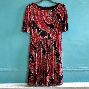 Ellen Tracy Paisley Dress